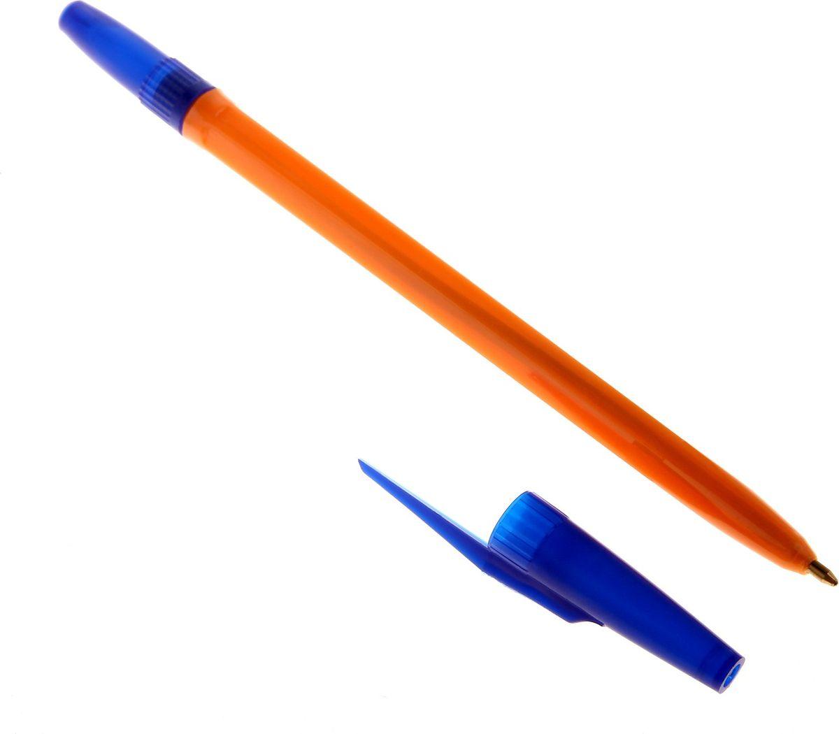 Стамм Ручка шариковая 511 Orange цвет чернил синий