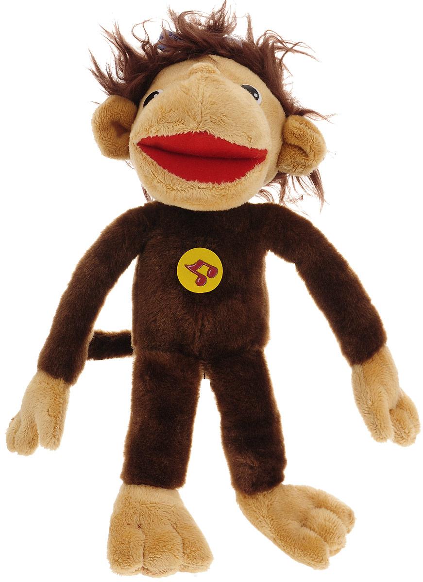 Мульти-Пульти Мягкая озвученная игрушка Мартышка 25 см рунов владимир викторович мартышка