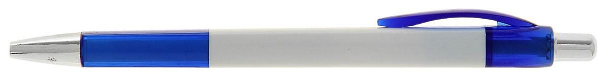 Calligrata Ручка шариковая Лого Квадрат цвет корпуса белый синий