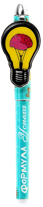Ручка шариковая Формула успеха синяя122282Яркая и забавная шариковая ручка Формула успеха - это настоящая находка для тех, кто любит не только функциональные, но и красивые аксессуары. Оригинальный принт изделия не оставит никого равнодушным и будет радовать своего обладателя день за днем. Такая ручка особенно придется по душе детям, всегда предпочитающим веселые вещи скучным и однообразным. Она комплектуется авторской упаковкой с душевными пожеланиями, что сделает ваш подарок еще более запоминающимся.
