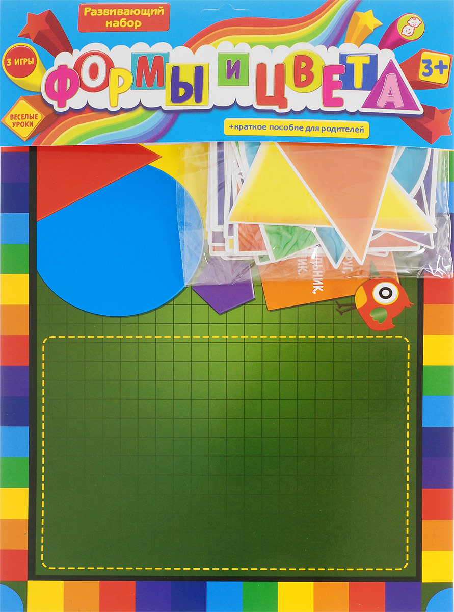 Лас Играс Обучающая игра Учим формы и цвета лас играс обучающая игра времена года