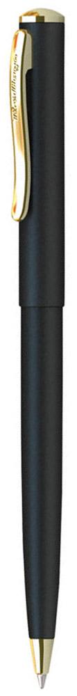 Berlingo Ручка шариковая Velvet Prestige цвет корпуса черный золотистыйCPs_72735Стильная и удобная шариковая ручка Berlingo Velvet Prestige с высококачественными чернилами обеспечивает ровное и мягкое письмо.Элегантная автоматическая шариковая ручка Berlingo Velvet Prestige изготовлена из меди и покрыта лаком. цвет корпуса ручки - черный, а элементы ручки - золотистые. Цвет чернил - синий. Диаметр пишущего узла - 0,7 мм. Ручка упакована в индивидуальный пластиковый футляр.