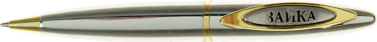 Ручка шариковая Зайка синяя585278Очаровательные подарки не обязательно должны быть большими. Порой, достаточно всего лишь письменной ручки. Она давно стала незаменимым аксессуаром, который должен быть в сумочке каждой девушки. Уникальная разработка ручка сувенирная Зайка придется по вкусу любой ценительнице прекрасных и функциональных аксессуаров. Сочетая в себе два классических цвета – золотистый и серебряный, с эффектной гравировкой и удобным поворотным механизмом, она становится одним из лучших подарков по поводу и без.