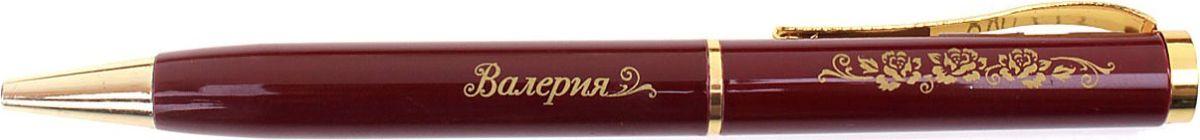 Ручка шариковая Валерия синяя608173Хотите сделать по-настоящему индивидуальный подарок? Тогда вам непременно понравится стильная и удобная именная Ручка Валерия, в бархатном мешочке. Выполненная в насыщенном бордовом цвете в сочетании с золотистый гравировкой, сделанная уникальным художественным шрифтом, она станет достойным дополнением образа своей обладательницы. Поворотный механизм надежен и удобен в повседневном использовании – ручка не откроется случайно и не оставит синих чернильных пятен на одежде. Мягкий бархатный мешочек придает изделию неповторимый шарм, делая его желанным подарком по поводу и без.