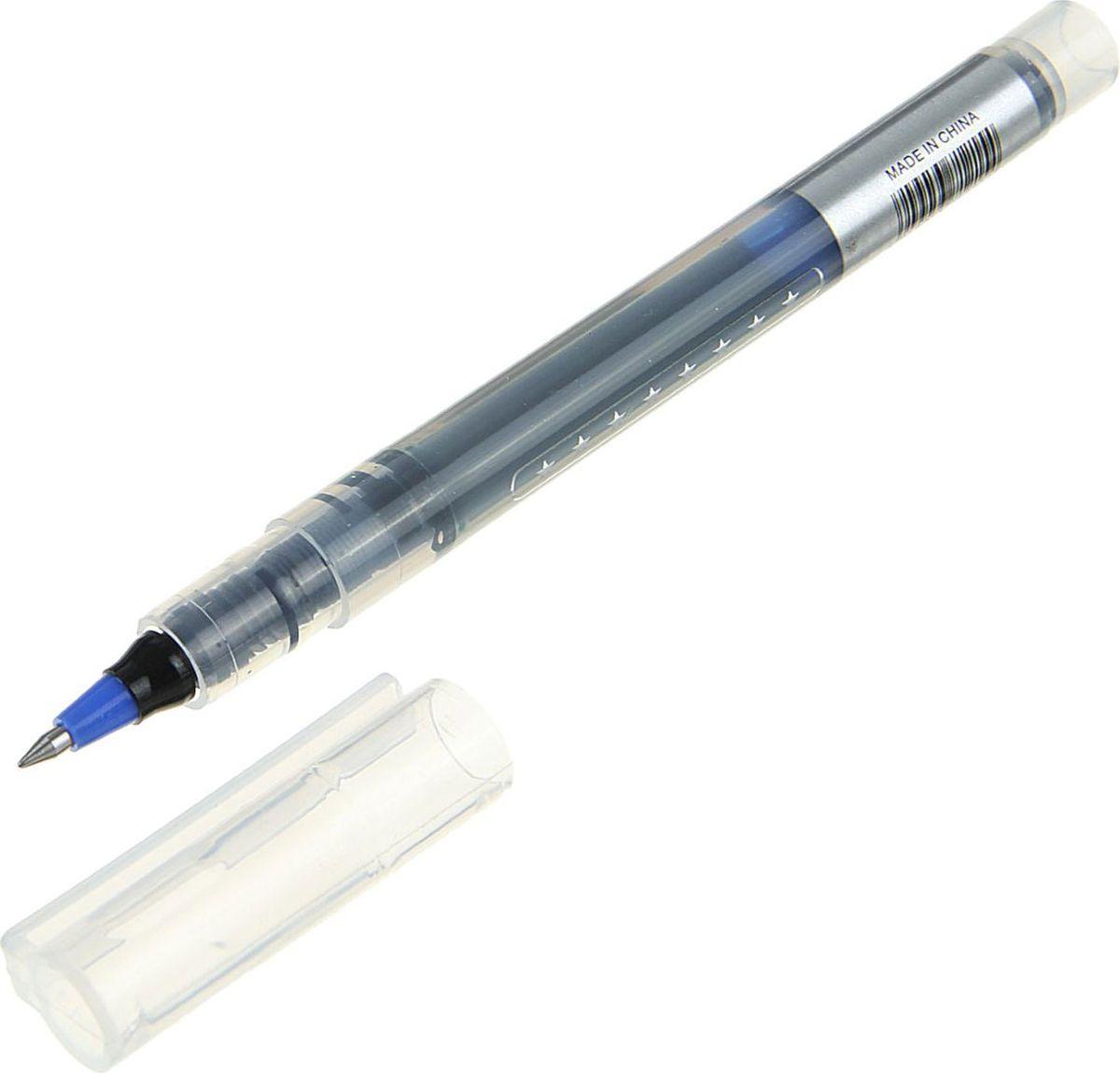 Sima-land Ручка-роллер синяя1720666Ручка-роллер с наконечником 0,5 мм обеспечивает очень мягкое письмо. Пригодна для письма на документах. Имеет водостойкие и светостойкие чернила. Эргономичная зона захвата обеспечивает комфорт во время письма. Колпачок оснащен упругим клипом.