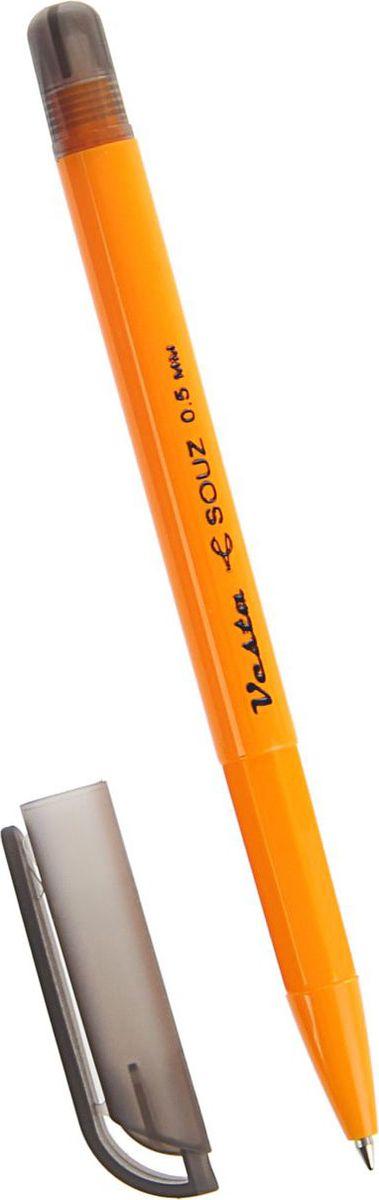 Союз Ручка шариковая Веста черная1793835