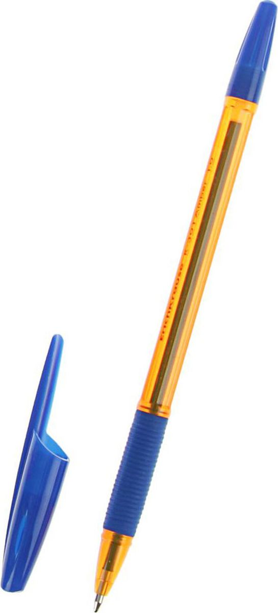 Erich Krause Ручка шариковая R-301 Amber Stick & Grip EK синяя2329673Ручка шариковая Erich Krause поможет организовать ваше рабочее пространство и время. Востребованные предметы в удобной упаковке будут всегда под рукой в нужный момент.Изделия данной категории необходимы любому человеку независимо от рода его деятельности. У нас представлен широкий ассортимент товаров для учеников, студентов, офисных сотрудников и руководителей, а также товары для творчества.