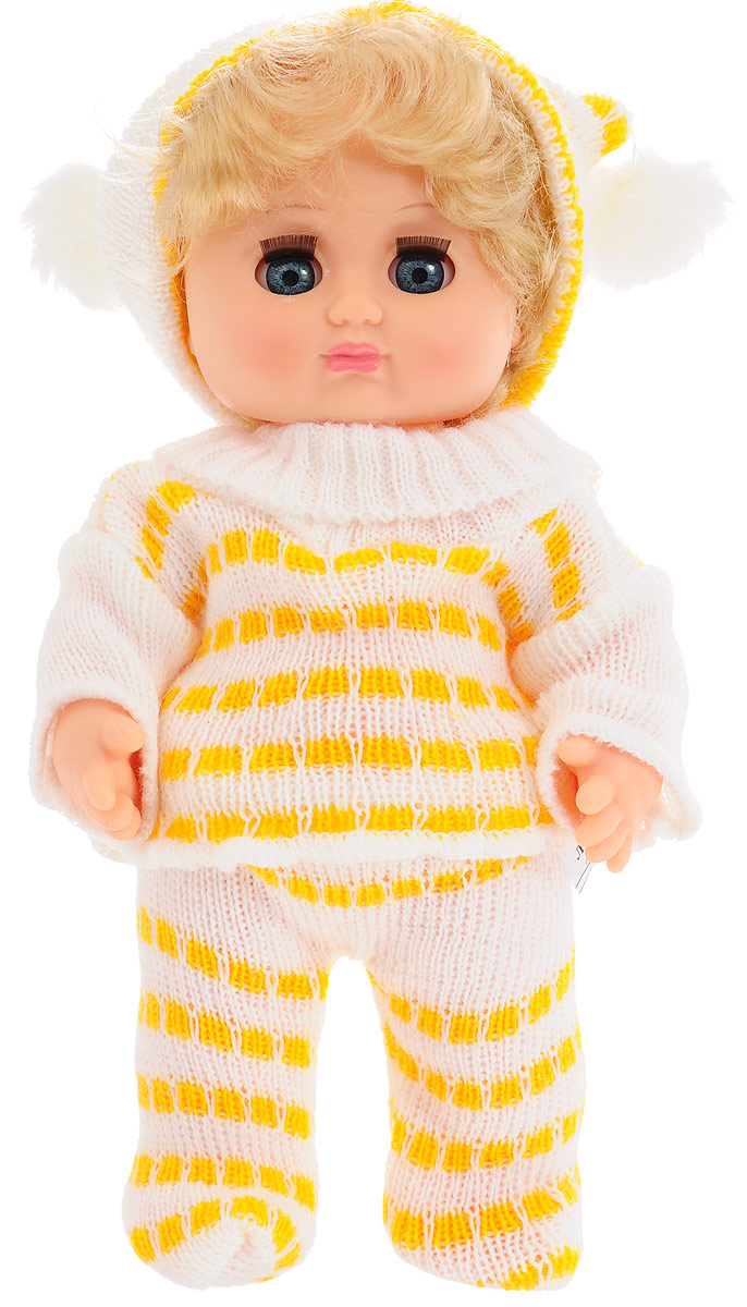 Весна Кукла Любочка цвет белый желтый кукла весна 35 см