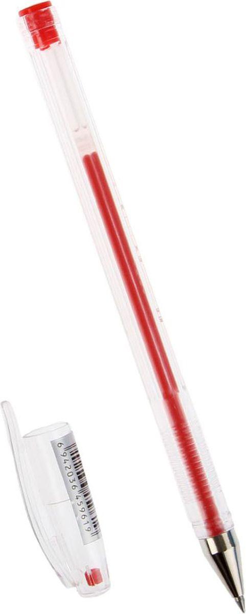 Beifa Ручка гелевая РХ888-RD красная1257354Ручка гелевая Beifa РХ888-RD имеет прозрачный пластиковый корпус, сквозь который всегда виден запас чернил. Рифленая поверхность передней части корпуса предотвращает скольжение пальцев при письме. Цвет колпачка соответствует цвету чернил.