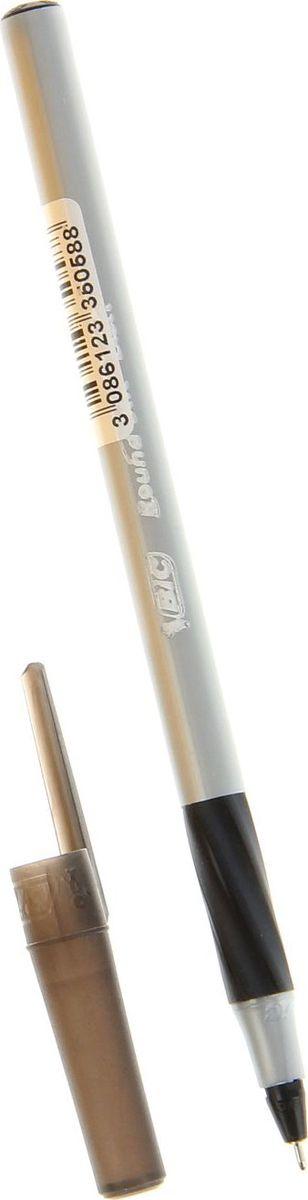 BIC Ручка шариковая Round Stic Exact черная1314671Ручка шариковая BIC Round Stic Exact новый остроконечный пишущий узел с диаметром шарика 0,7 мм с технологией более гладкого скольжения по поверхности позволяет чертить красивые тонкие линии толщиной 0,35 мм, ручка обладает прорезиненным грифом, выполнена в пластиковом корпусе серого цвета с синими вставками. Канцелярские принадлежности BIC известны во всем мире благодаря неизменно высокому качеству и простоте в использовании. Шариковая ручка является одноразовой, сменных стержней нет.