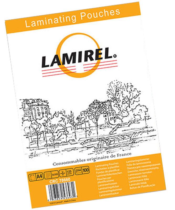 Lamirel А4 LA-78660 пленка для ламинирования, 125 мкм (100 шт)LA-78660Пакетная пленка Lamirel LA-78660 предназначена для защиты документов от нежелательных внешних воздействий. Обеспечивает улучшенную защиту от грязи, пыли, влаги. Документ дополнительно получает жесткость на изгиб и защиту от механического воздействия и потертостей. Идеально подходит для интенсивной эксплуатации.Глянцевое покрытие улучшает внешний вид документа: краски становятся глубже, ярче и контрастнее.
