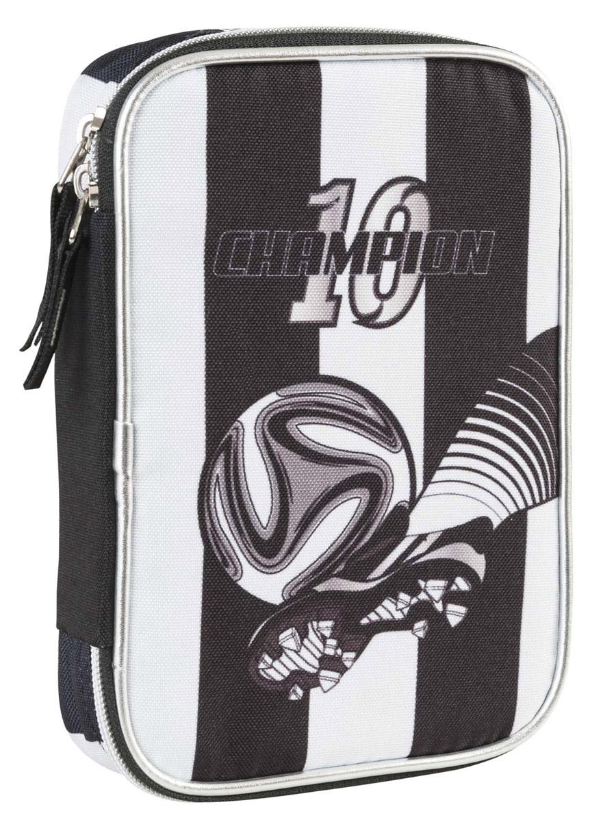 Пенал с канцтоварами Target FC Juventus juventus fc chievo verona