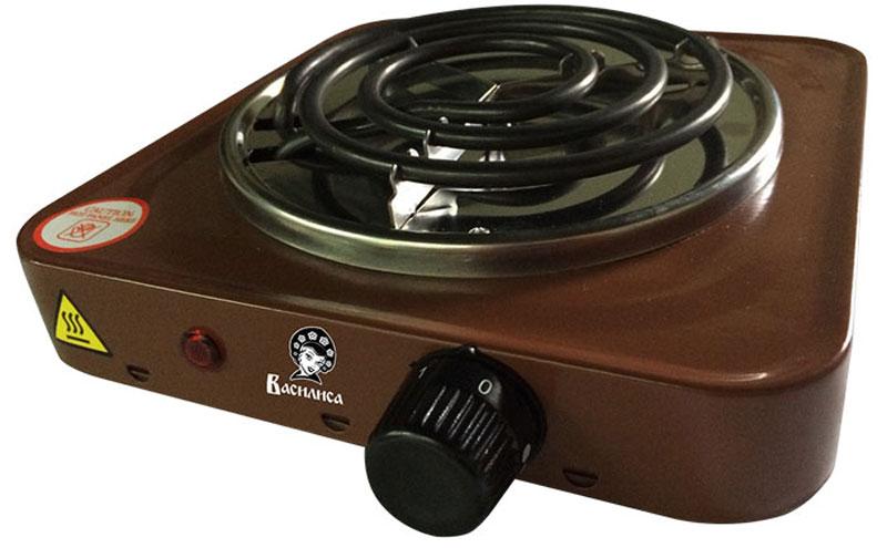 Василиса ПЭ1-1000, Brown плитка электрическаяПЭ1-1000Электрическая плитка Василиса ПЭ1-1000 пригодится дома и на даче, в студенческом общежитии или на маленькой кухне. Плитка имеет надежное эмалевое покрытие, которое легко чистится, устойчиво к истиранию и долго сохраняет отличный внешний вид. О том, что нагревательный элемент подключен к сети, сигнализирует красный индикатор. Мощность ТЭНа составляет 1 кВт, ее можно регулировать при помощи поворотного переключателя-термостата.