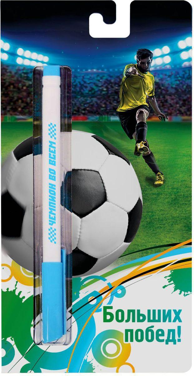 Ручка шариковая Больших побед на открытке синяя1767527Эта ручка сочетает в себе интересный дизайн и современный материал! Она удобна в использовании: густые чернила не расплываются на бумаге и не вытекают при переноске, а яркое индивидуальное оформление радует глаз. Преимущества: картонная подложка-открытка индивидуальный дизайн пластиковый чехол-упаковка.