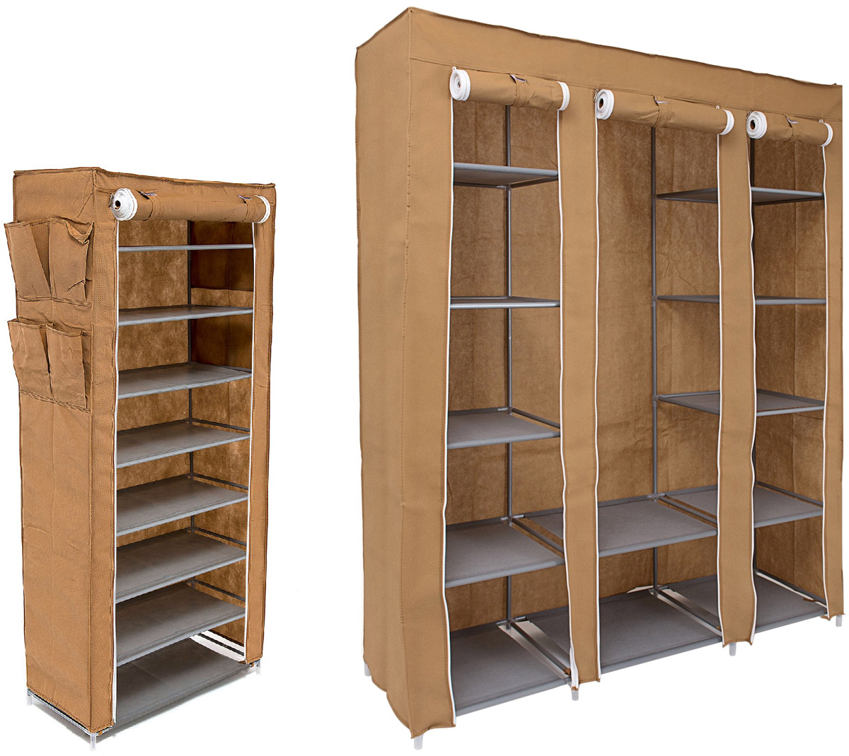 Набор кофров для хранения Homsu Классический, 2 штPARIS 75015-8C ANTIQUEУникальный дизайн этого комплекта станет настоящим украшением для любого интерьера. Практичная составляющая подобной мебели также вне сомнений. Лёгкие и прочные устойчивые конструкции из каркасов и тканевой обивки могут быть легко собраны вами без посторонней помощи, буквально за несколько минут. Такая мебель будет всегда удобной и максимально практичной, ведь верхнюю тканевую часть при надобности можно всегда постирать либо же попросту поменять на аналогичную другого цвета. Кроме того, такие конструкции всегда будут отличным решением для того, кому по душе мобильность и постоянная смена обстановки. 1350х450х1750; 600х300х1360