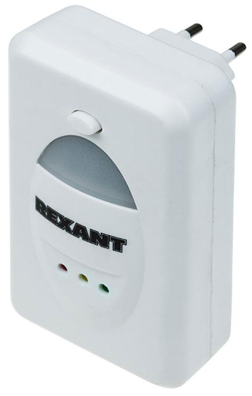 Отпугиватель вредителей Rexant, ультразвуковой, с LED индикатором71-0018Отпугиватель вредителей Rexant предназначен для отпугивания грызунов, пауков, тараканов, муравьев и других вредителей путем излучения ультразвуковых волн на дискомфортных для них частотах. Регулятор частоты излучения позволяет менять частоту сигнала воздействия, тем самым препятствуя привыканию у вредителей. Отпугиватель вредителей с изменяемой частотой излучения является безопасным, компактным, простым в эксплуатации устройством, обеспечивающим надежную защиту помещений от грызунов и насекомых. Отпугиватель вредителей Rexant бесшумен в работе и безопасен для людей и домашних животных.- безопасно для людей и домашних животных; - работа от сети 220 В; - один LED диод; - частота 30 кГц; - площадь работы до 60 м. кв.
