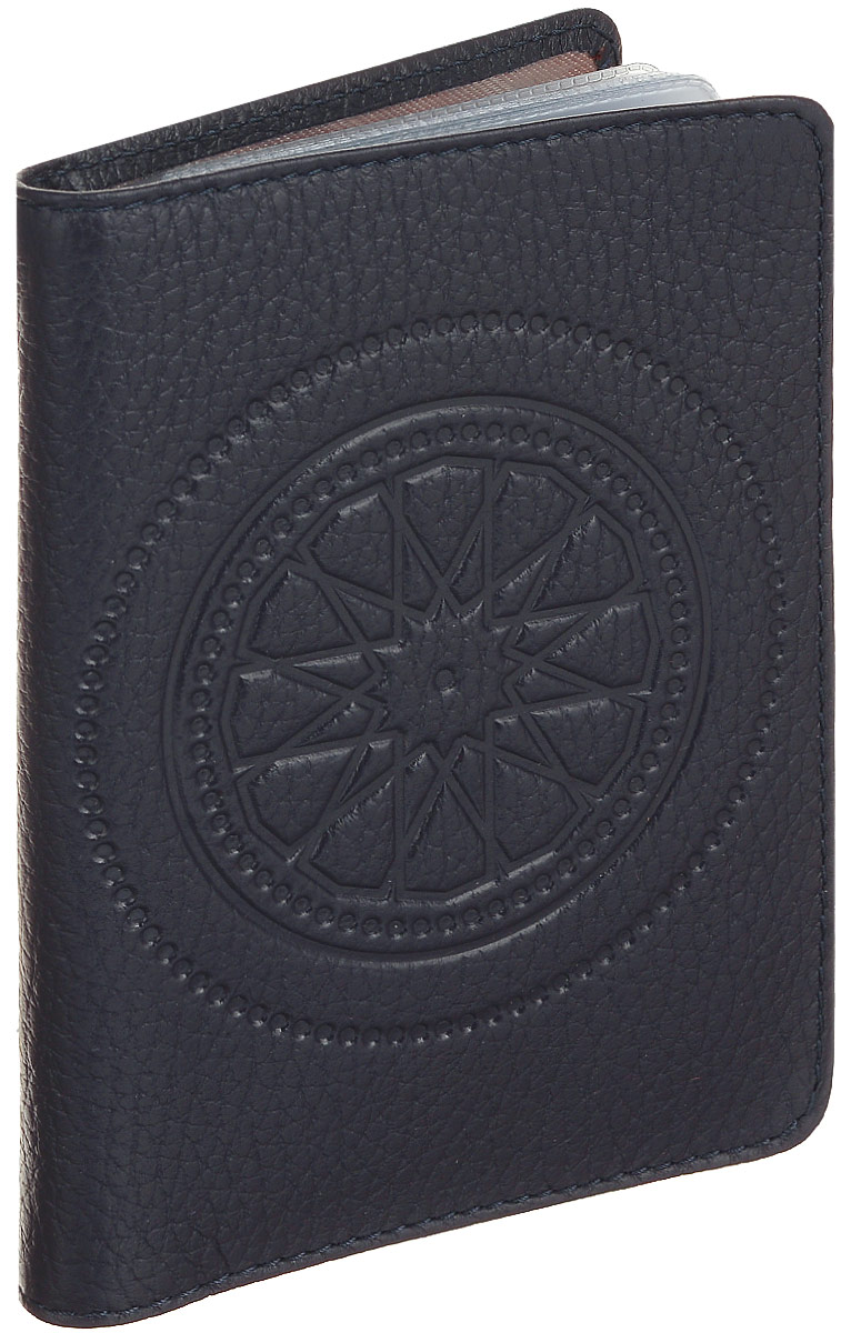 Бумажник водителя женский Fabula Talisman, цвет: фиолетовый. BV.66.SN