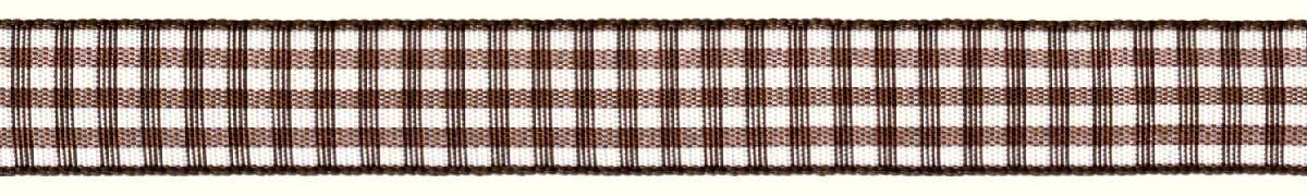 Лента декоративная Prym Клетка, цвет: белый, коричневый, 15 мм, 3 м907357Лента декоративная Prym Клетка подходит для украшения, поделок, оформления и упаковки подарков.Ширина: 15 мм. Длина: 3 м.