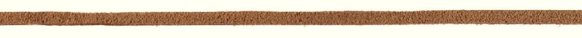 Лента для рукоделия Prym, цвет: темно-бежевый, 3 мм, 3 м916482Для декоративных шнуровок, украшения и аксессуаров