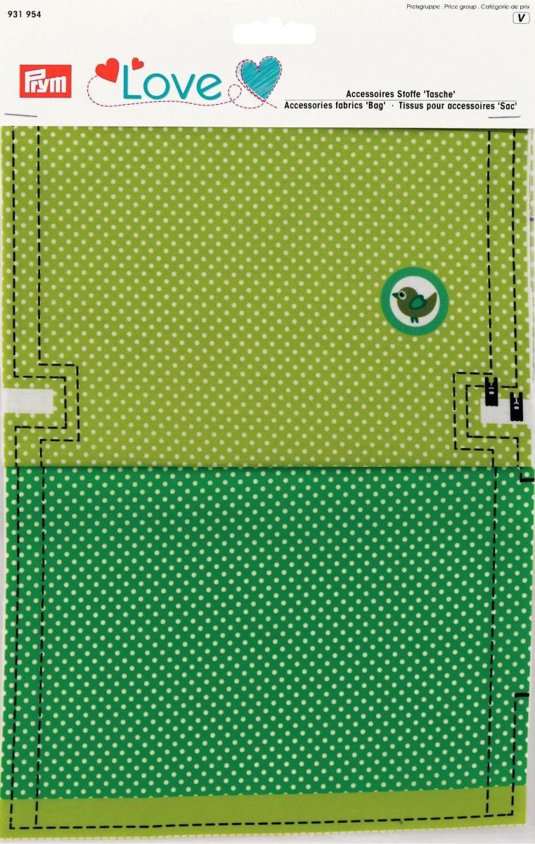 Ткань для изготовления сумочки Prym Love. Птица, 21 х 30 см, 2 шт931954