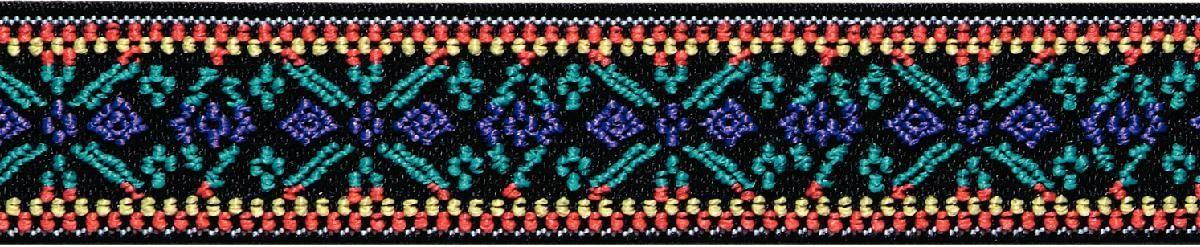 Лента эластичная Prym Color. Цветок, 25 мм, 7 м. 957455957455Для украшения трикотажных тканей, поясов для брюк и юбок, аксессуаров и т.д.