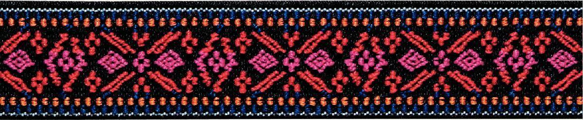 Лента эластичная Prym Color. Цветок, 25 мм, 7 м957456Для украшения трикотажных тканей, поясов для брюк и юбок, аксессуаров и т.д.