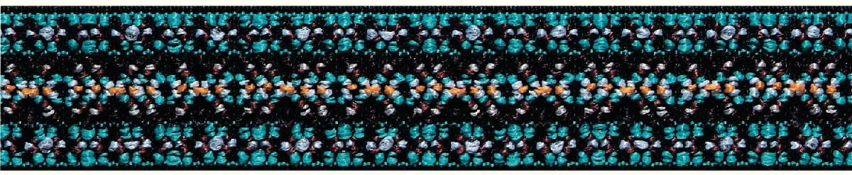 Лента декоративная Prym Color. Узор, эластичная, 25 мм, 7 м957457Декоративная лента Prym Color. Узор выполнена из эластичного текстиля. Лента предназначена для украшения трикотажных тканей, поясов для брюк и юбок, аксессуаров и т.д.
