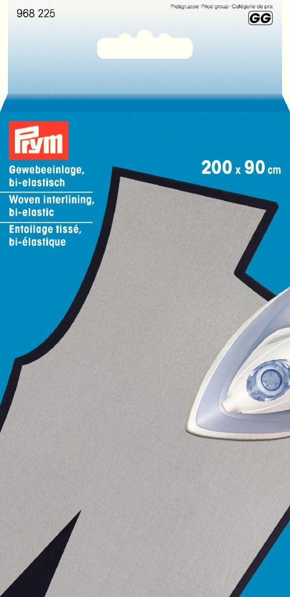 Прокладка тканевая  Prym , биэластичная, цвет: белый, 200 х 90 см - Подарочная упаковка