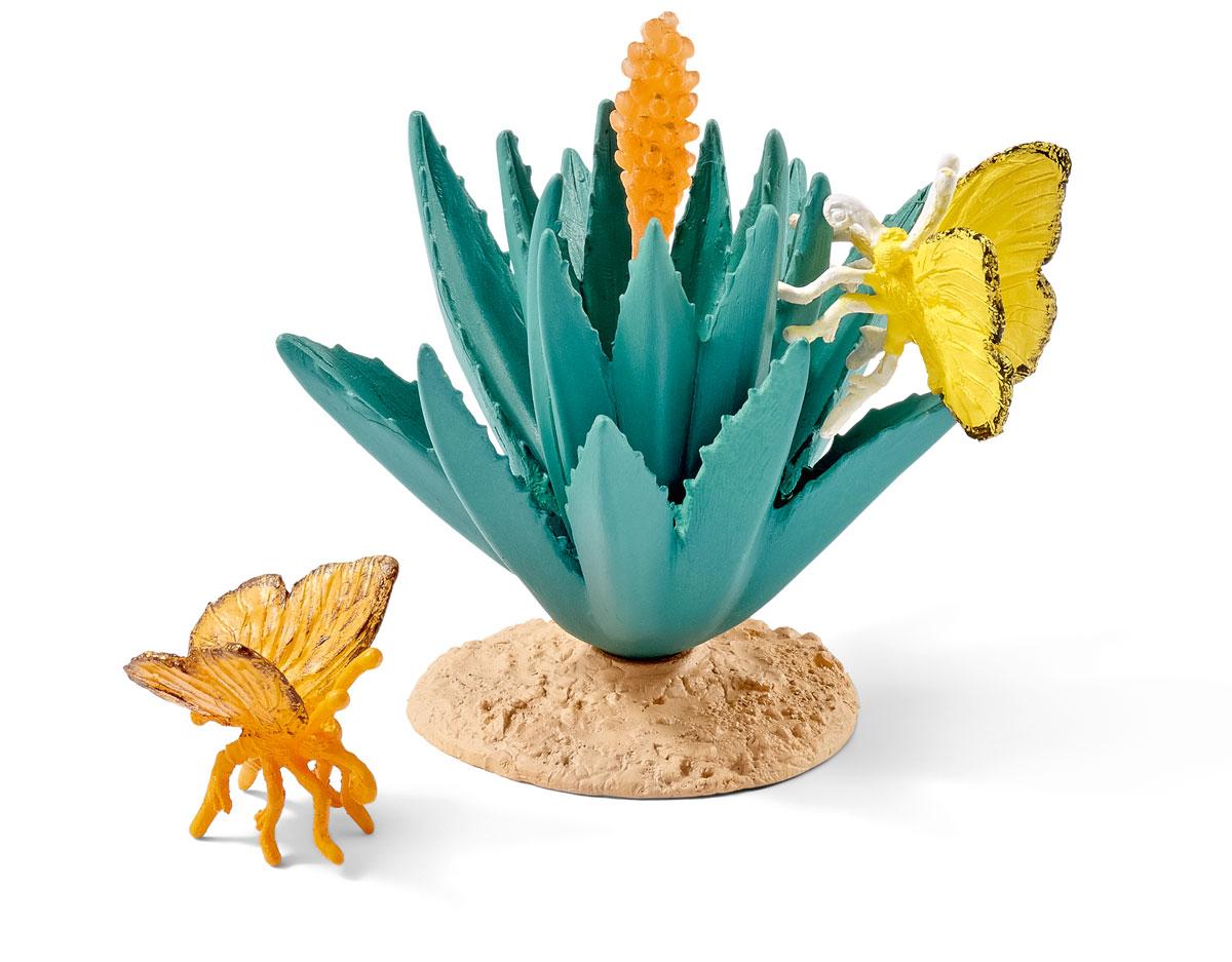 Schleich Набор фигурок Бабочки 2 шт schleich набор фигурок риф под водой с дайвером