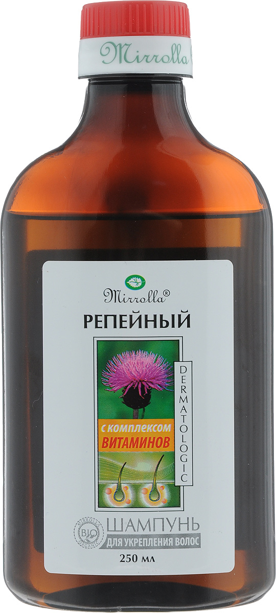 Мирролла Шампунь репейный с комплексом витаминов для укрепления волос 250 мл мирролла репейный шампунь с комплексом витаминов для укрепления волос 150мл