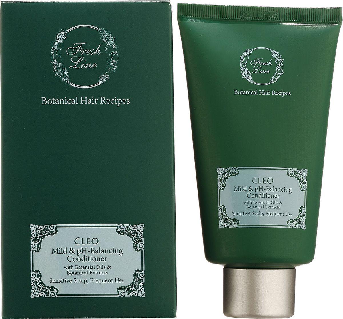 Fresh Line Кондиционер для волос для частого использования Клео, 150 мл911412Увлажняющий кондиционер для частого использования и чувствительной кожи головы бережно ухаживает за волосами, придавая им мягкость и здоровое сияние. Содержит сок алоэ, способствующий увлажнению волос и кожи головы, экстракт овса и эфирное масло ромашки, смягчающие и снимающие раздражение, эктракт окопника и масло календулы, укрепляющие волосы. Идеально подходит для использования после посещения бассейна, во время пребывания на солнце и для ежедневного ухода.