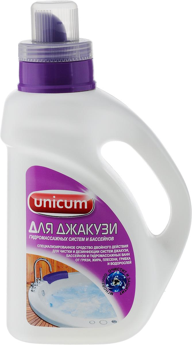 Средство для чистки джакузи Unicum, 1 л302234Чистящее средство Unicum предназначено для чистки и профилактики систем джакузи, массажных ванн и бассейнов. Средство предотвращает появление бактерий, грибков, водорослей, быстро и эффективно удаляет жиры, грязь и остатки мыла, обладает высоким уровнем дезинфекции. Обновляет поверхность, освежает ее и придает ей блеск на долгое время. Очищает как внутреннюю поверхность, так и внешнюю поверхность. Уважаемые клиенты!Обращаем ваше внимание на возможные изменения в дизайне упаковки. Качественные характеристики товара остаются неизменными. Поставка осуществляется в зависимости от наличия на складе. Товар сертифицирован. Как выбрать качественную бытовую химию, безопасную для природы и людей. Статья OZON Гид