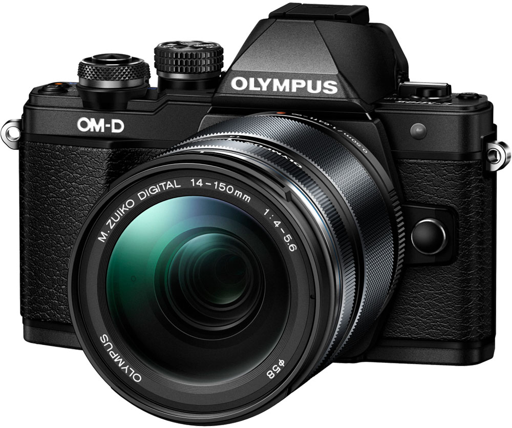 Olympus OM-D E-M10 Mark II Kit 14-150 II, Black фотокамера olympus om d e m10 mark ii цена