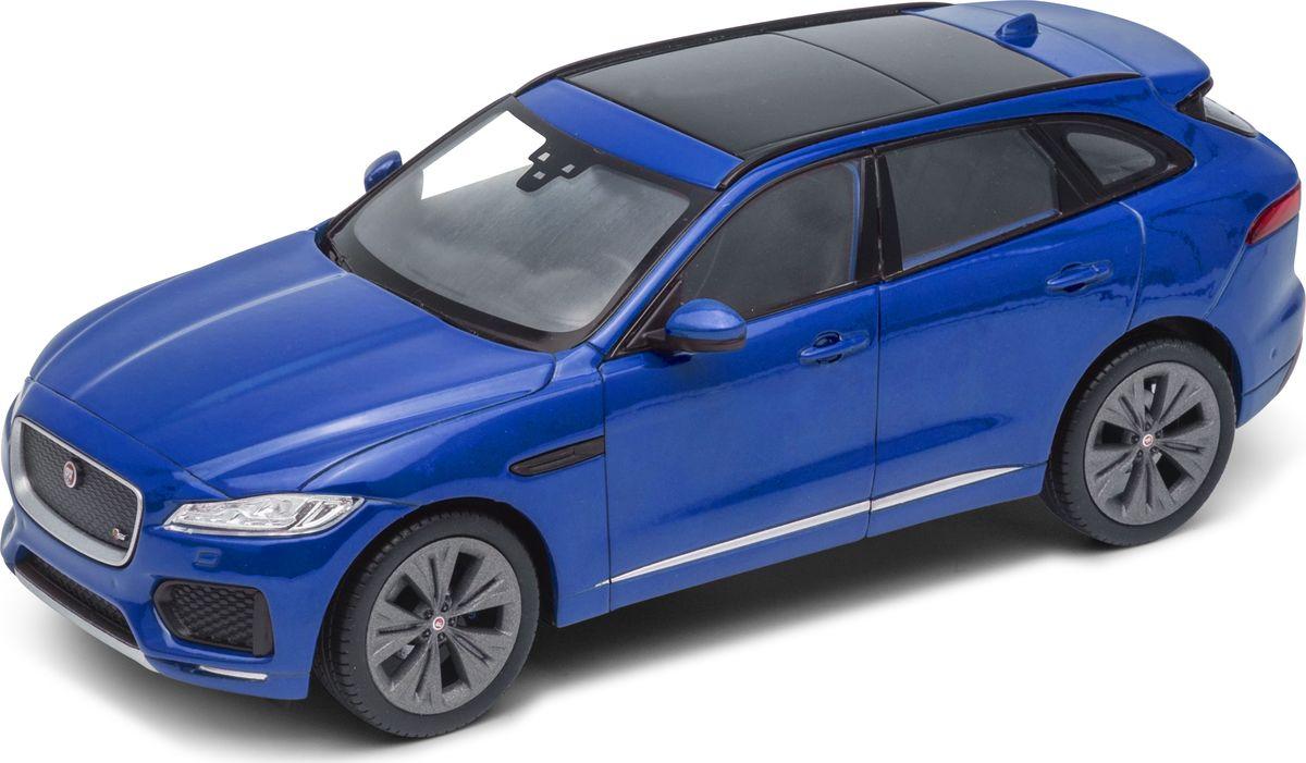 Welly Модель автомобиля Jaguar F-Pace автомобиль welly jaguar f pace 1 24 цвет в ассортименте