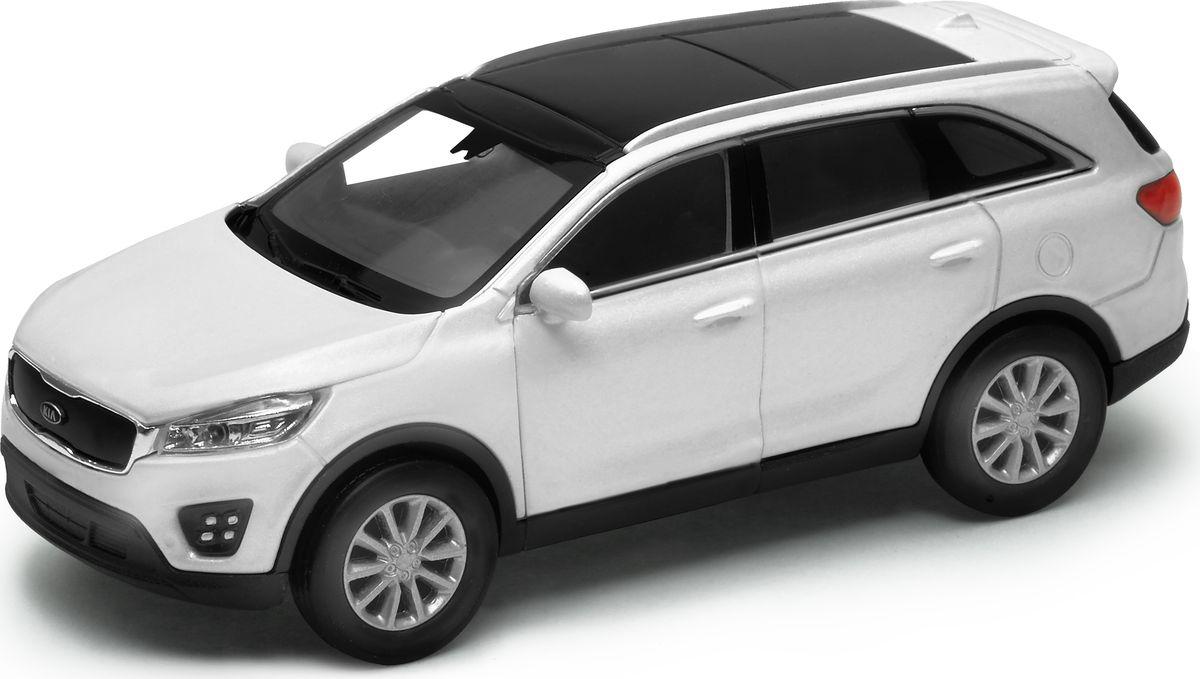 Welly Модель автомобиля Kia Sorento цвет белый welly модель автомобиля audi r8 v10 цвет красный