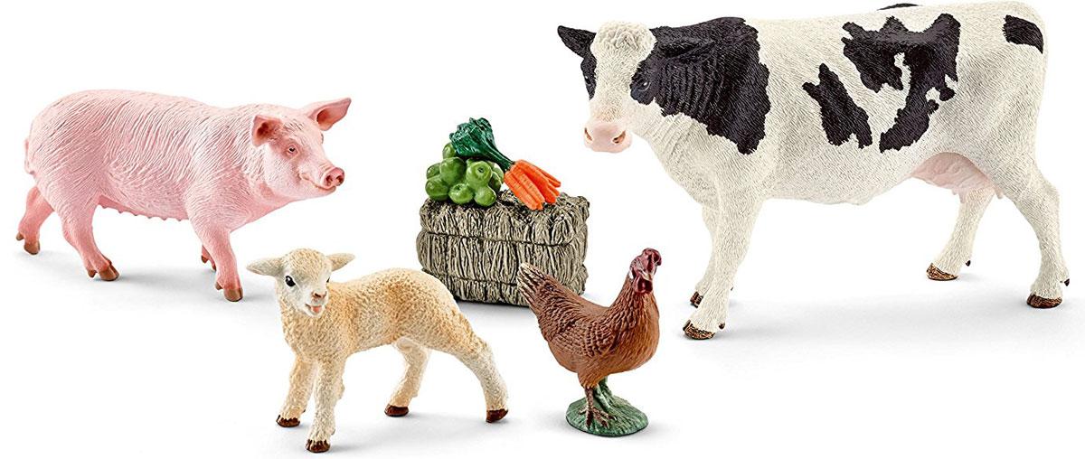 Schleich Набор фигурок Мои первые животные на ферме 4 шт - Фигурки