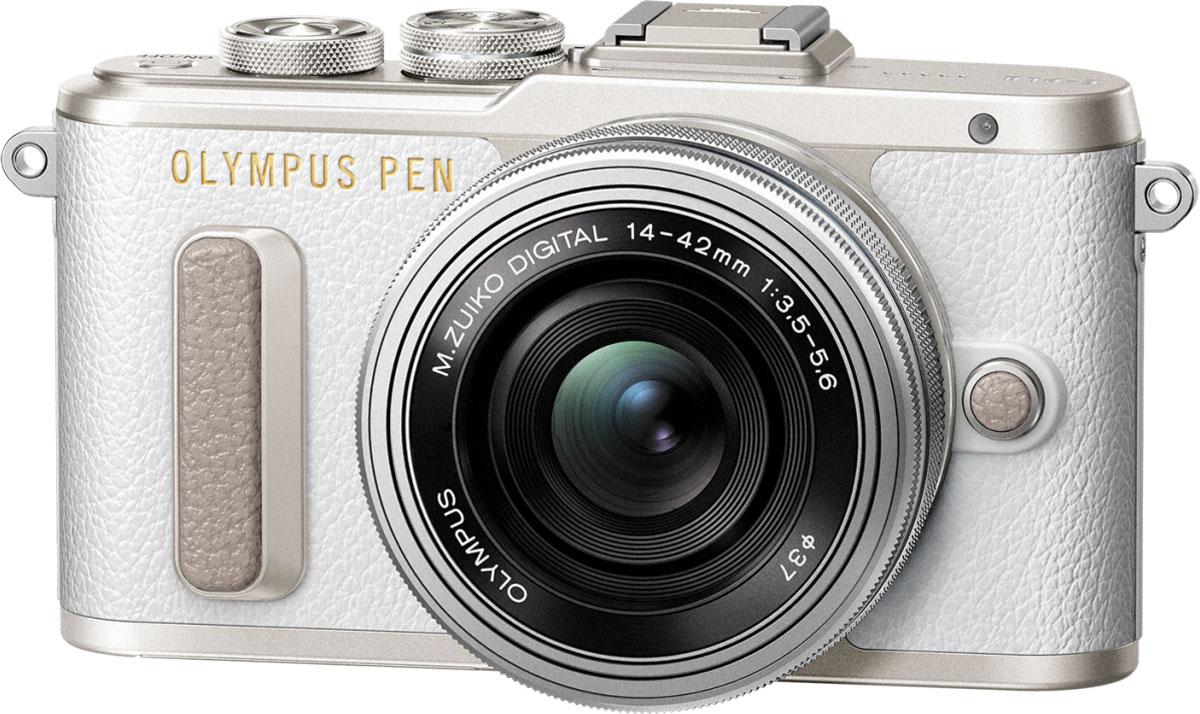 Olympus PEN E-PL8 Kit 14-42 EZ, White фотокамера - Цифровые фотоаппараты