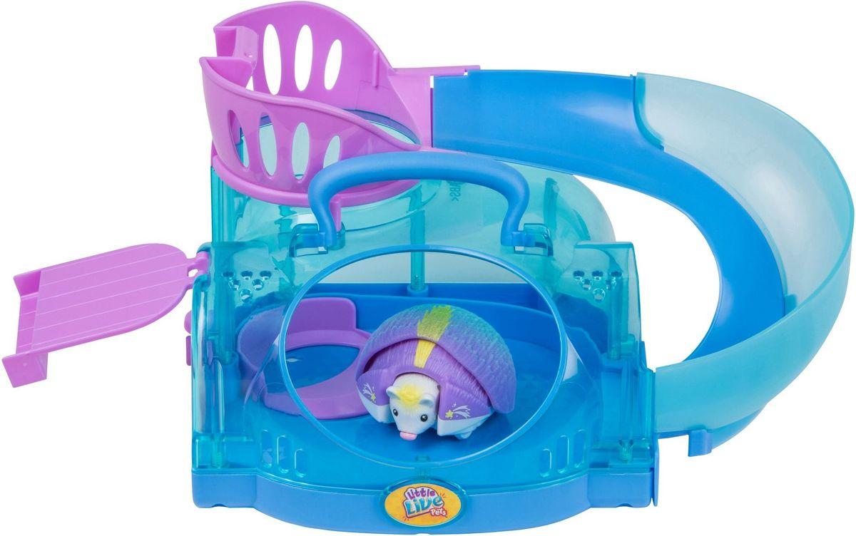 Little Live Pets Интерактивная игрушка Ежик с домиком - Интерактивные игрушки