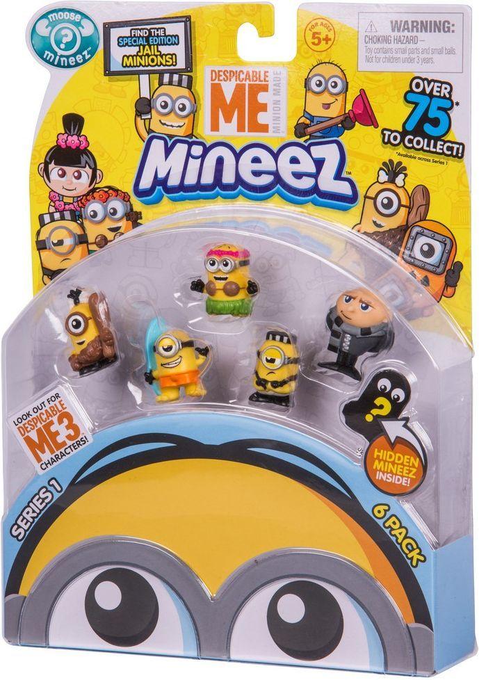 Despicable Me Набор фигурок Mineez 6 шт mymei 1 комплект 12шт набор гадкий я 2 миньоны рисунок игрушки в розницу 96408