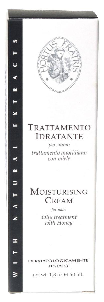 Hortus Fratris крем увлажняющий для мужчин, 50 мл18102Прекрасно смягчает, увлажняет и питает кожу, разглаживает мелкие морщины. Предотвращает появление признаков старения кожи. Защищает кожу от неблагоприятных факторов окружающей среды. Способствует снятию раздражения и покраснения.