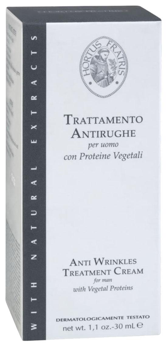 Hortus Fratris крем против морщин для мужчин, 30 мл18103Препятствует преждевременному старению кожи. Уменьшает глубину морщин и мимических линий. Активно питает кожу и делает ее более эластичной и подтянутой.