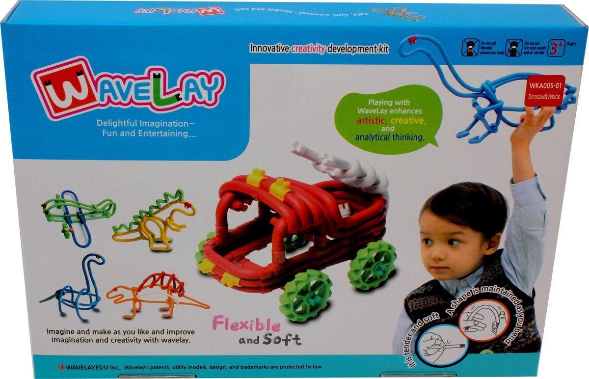 waveplay конструктор 99 a Waveplay Конструктор Dinosaurs and Vehicles