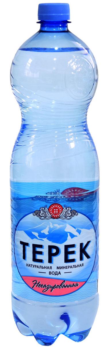 Терек вода минеральная негазированная, 1,5 л232-02Натуральная минеральная вода имеет природное происхождение. По микроэлементному составу полностью идентична хлоридно-гидрокарбонатным минеральным водам Кавказа. Рекомендована к регулярному использованию для питья и приготовления пищи. Не содержит каких либо вредных и токсичных элементов, способствует очищению организма от шлаков, улучшает обмен веществ, повышает иммунитет. Скважина № 81214, глубина 260 метров.