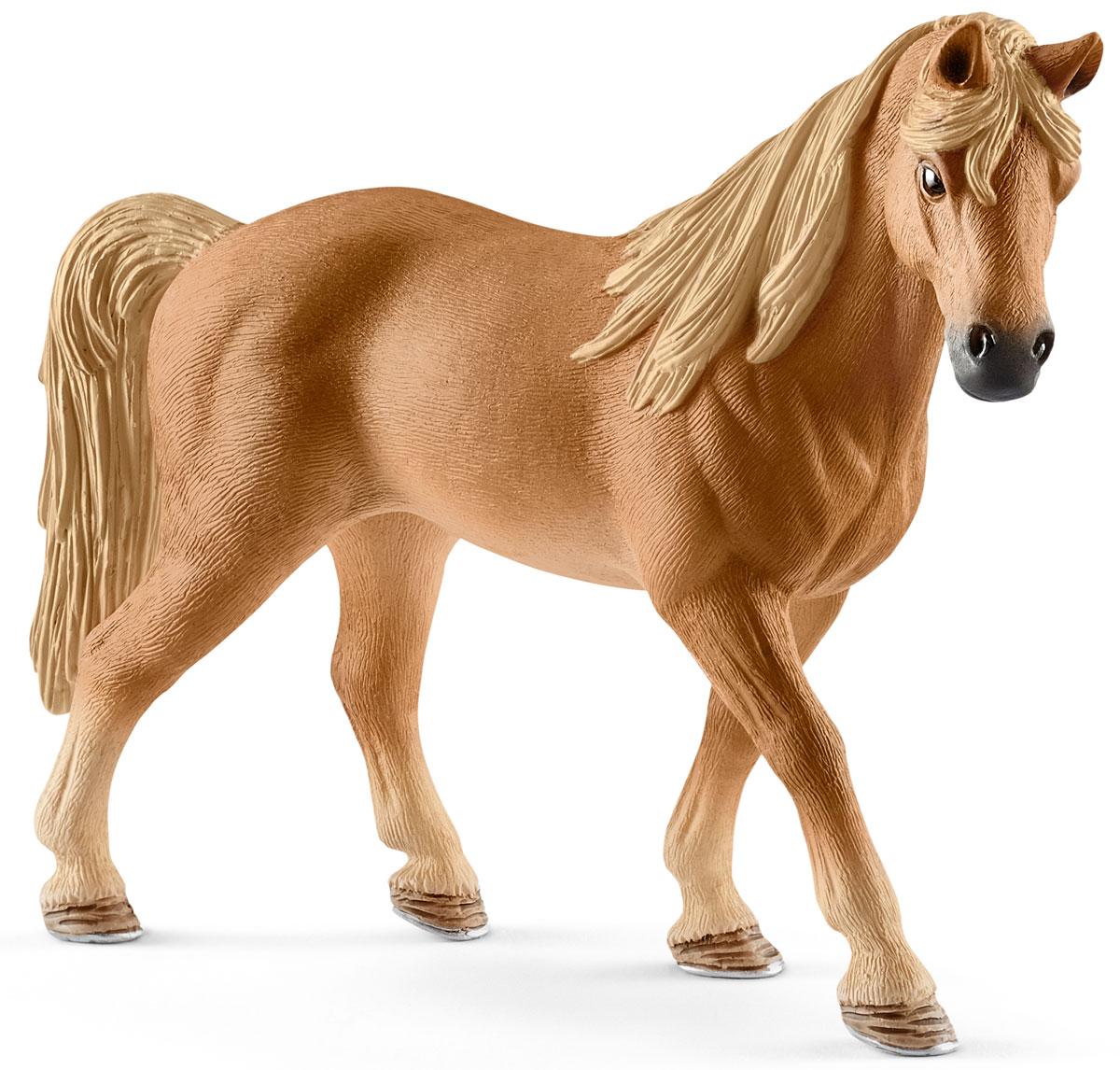 Schleich Фигурка Кобыла Теннесси уокер 13833 schleich фигурка кобыла пинто цвет молочный коричневый