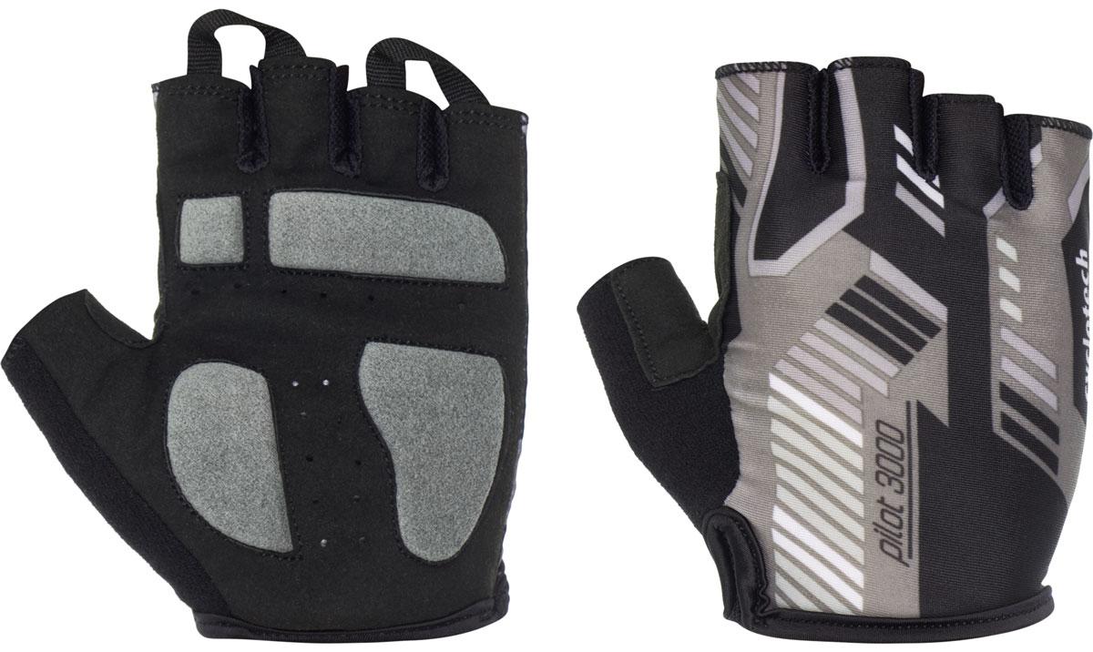 Велоперчатки Cyclotech Pilot, цвет: черный, серый. Размер S cyclotech перчатки велосипедные cyclotech pilot