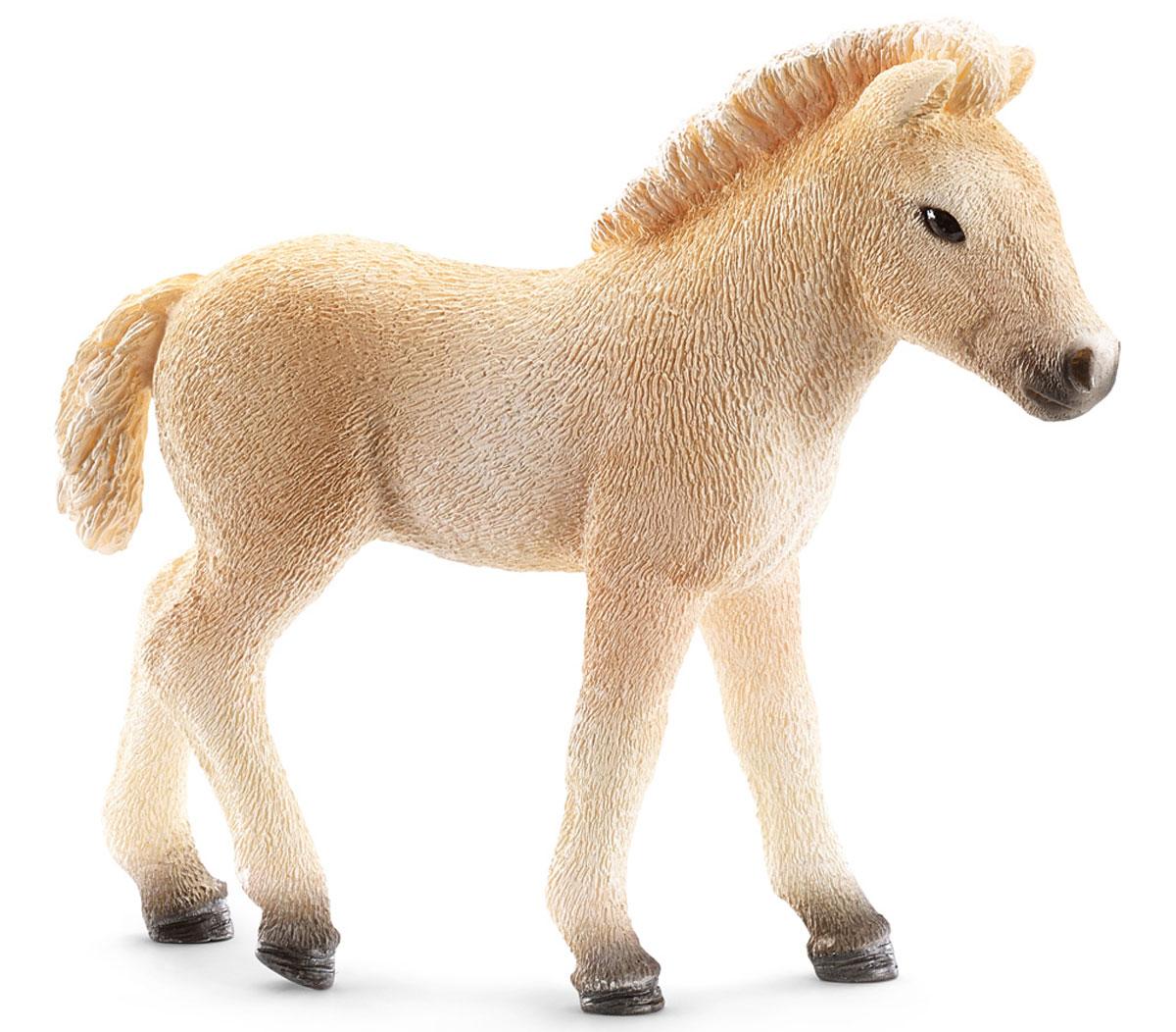 Schleich Фигурка Фьордский жеребенок schleich schleich жеребенок клейдесдальской породы серия лошади