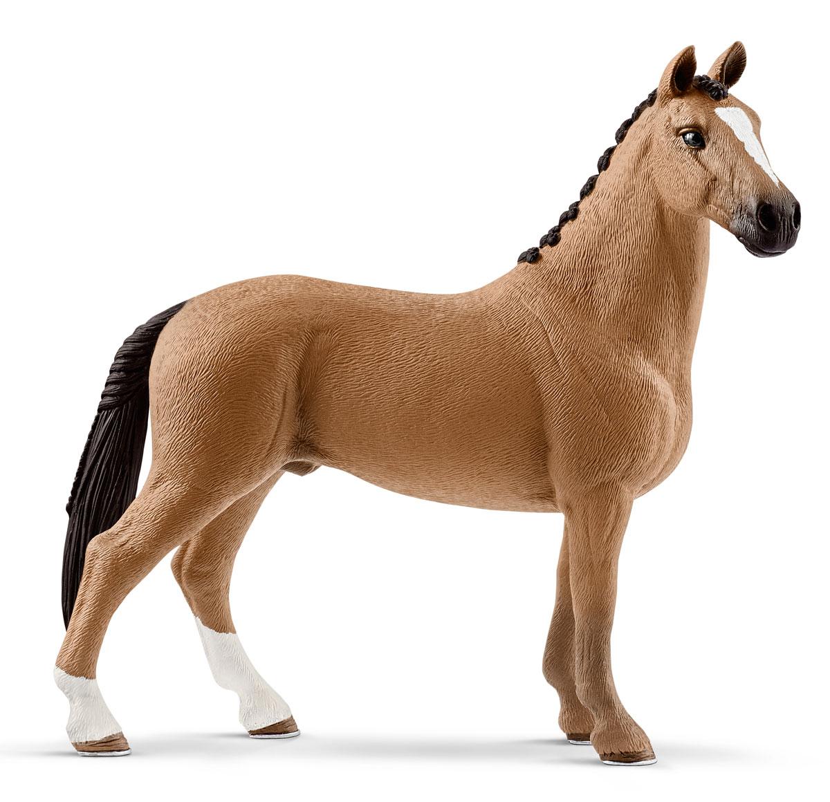 Schleich Фигурка Ганноверский жеребец 13837 фигурка карликовый козел schleich фигурка карликовый козел