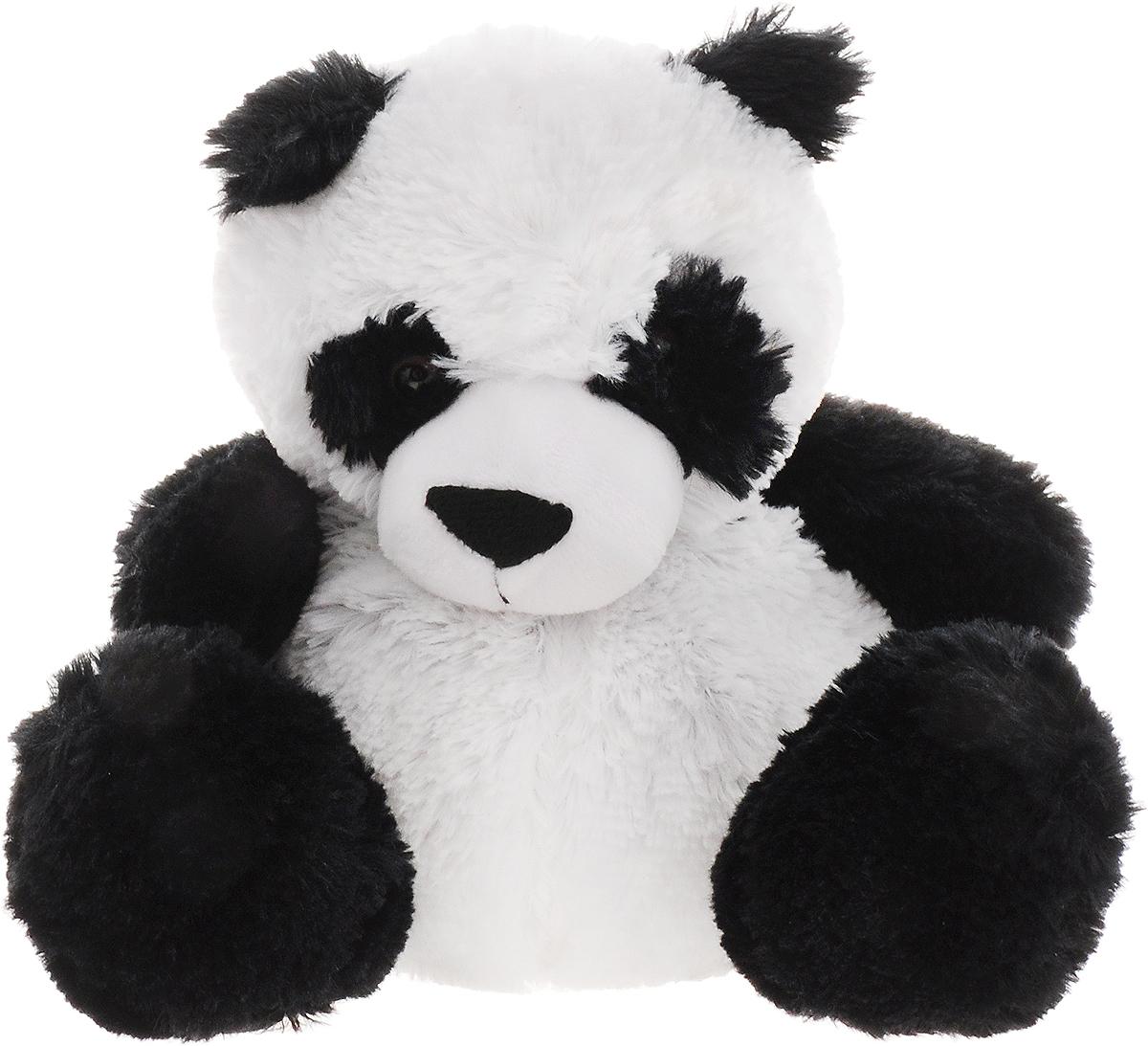 Warmies Мягкая игрушка-грелка Панда цвет белый черный грелки warmies cozy plush игрушка грелка дракон