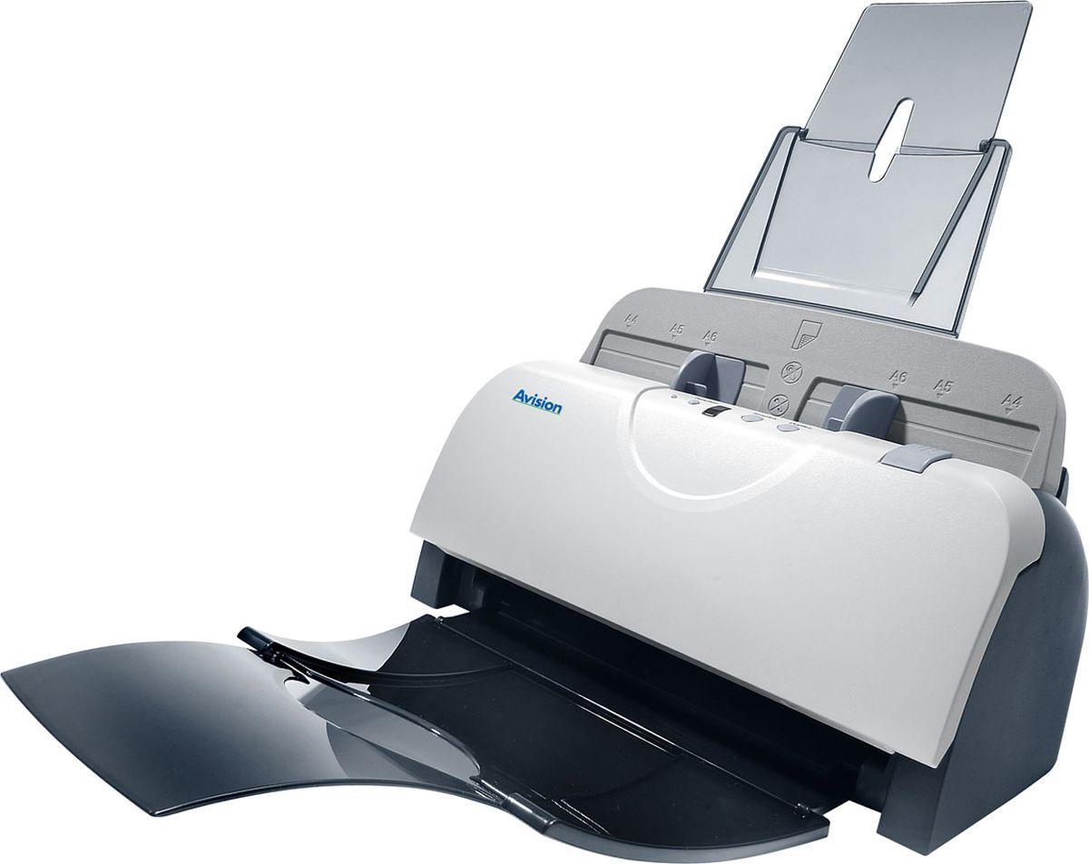 Avision AD125 сканер000-0746B-07GAvision AD125 – цветной, небольшой и быстрый протяжной сканер, который разработан для настольного использования, который сканирует двухсторонние документы со скоростью до 50 изображений в минуту.Avision AD125 - идеально подходящий сканер для пользователей с ограниченным местом на рабочем столе.Несмотря на компактный размер, Avision AD125 с автоподатчиком емкостью 50 листов может сканировать полноцветныедвухсторонние документы со скоростьюдо 25 страниц в минуту при разрешении 200 точек на дюйм.Модель оборудована CCD матрицей для высококачественного сканирования документов.Светодиодная технология (LED) не требует времени на нагрев, имеет более низкий расход энергии и не выделяет ртутные пары как традиционная технология CCFL.С помощью недавно разработанного приложения Avision – Button Manager V2пользователи могут отсканировать и отослать изображения на принтер, электронную почту, поместить в определенную папку, любимое приложение или на облачный сервер, такой как Google Drive или Microsoft SharePoint.