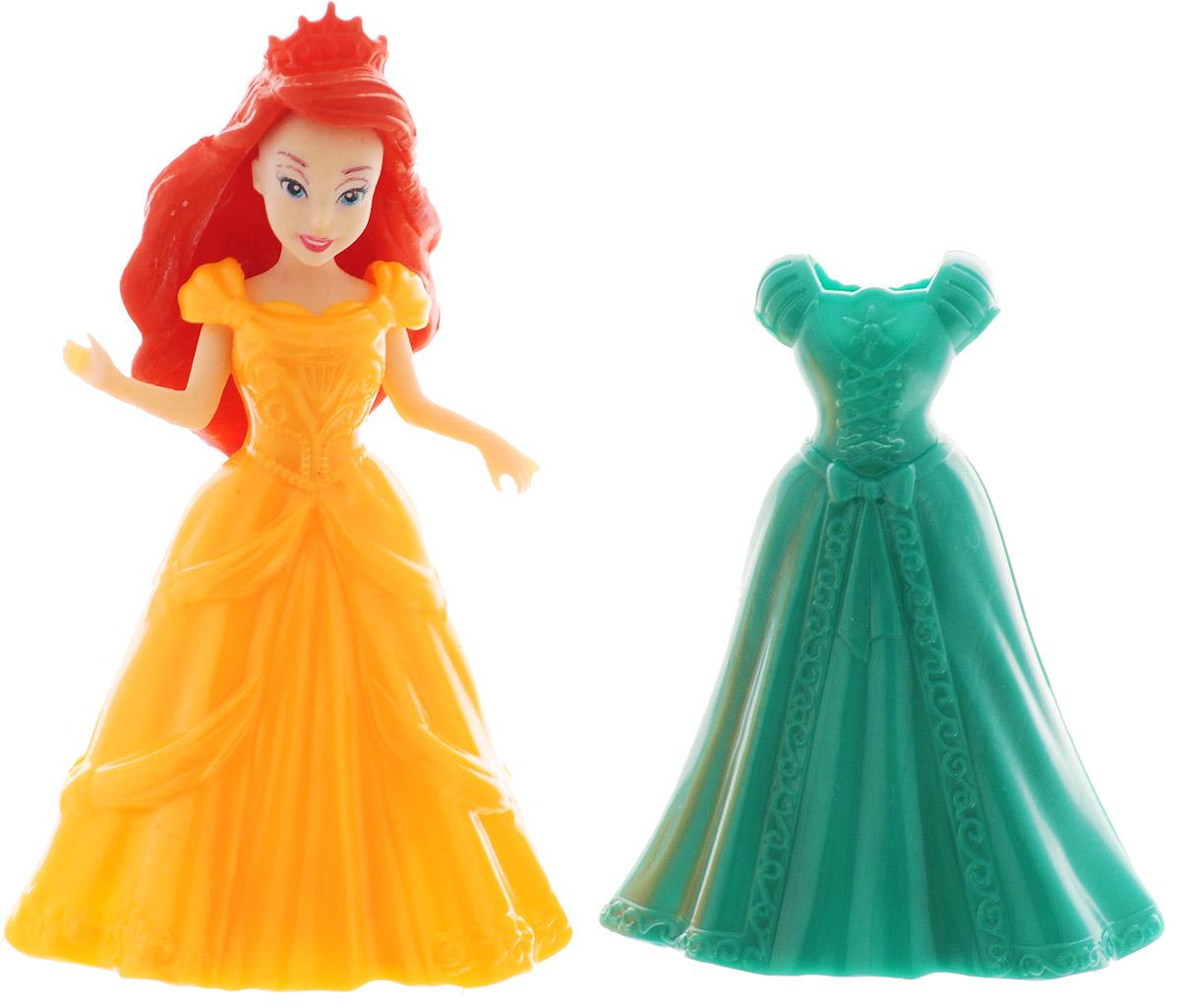 1TOY Мини-кукла Красотка цвет платья оранжевый зеленый 1toy с мебелью 187 деталей красотка